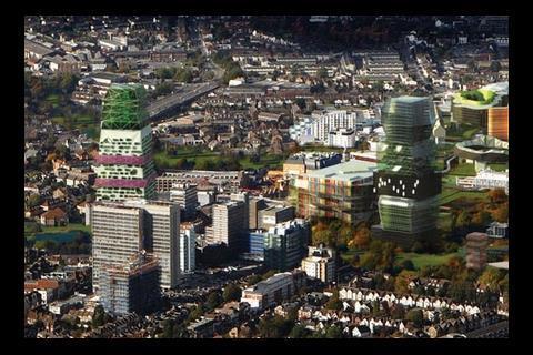 Alsop's designs for Croydon
